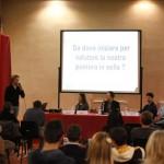 """Matteo Pesci relatore del convegno """"Etica e Sport"""""""